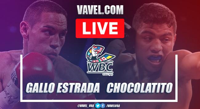 Resumen y mejores momentos de la victoria por decisión dividida de Gallo Estrada ante Chocolatito González en Box 2021