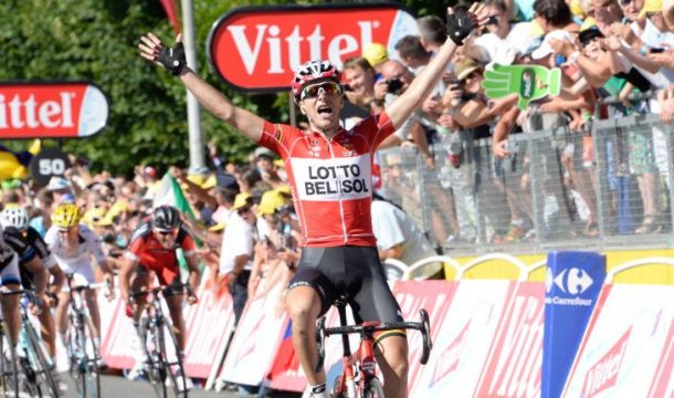 Tour de France Stage 11: Gallopin claims the glory in Oyannax