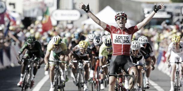 Tour de France 2014 : Gallopin au nez et à la barbe du peloton