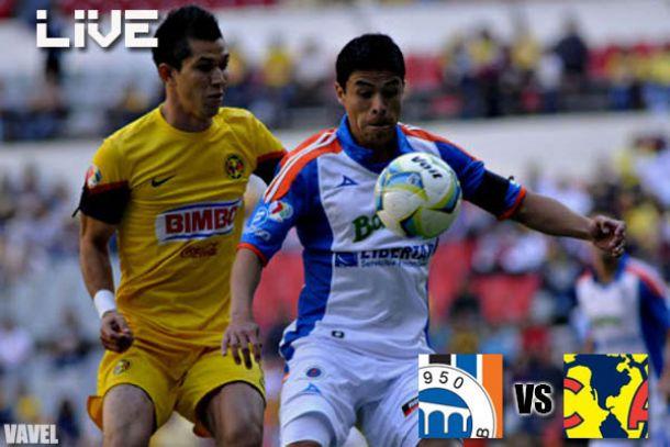 Resultado Querétaro vs América en Liga MX 2013 (0-0)