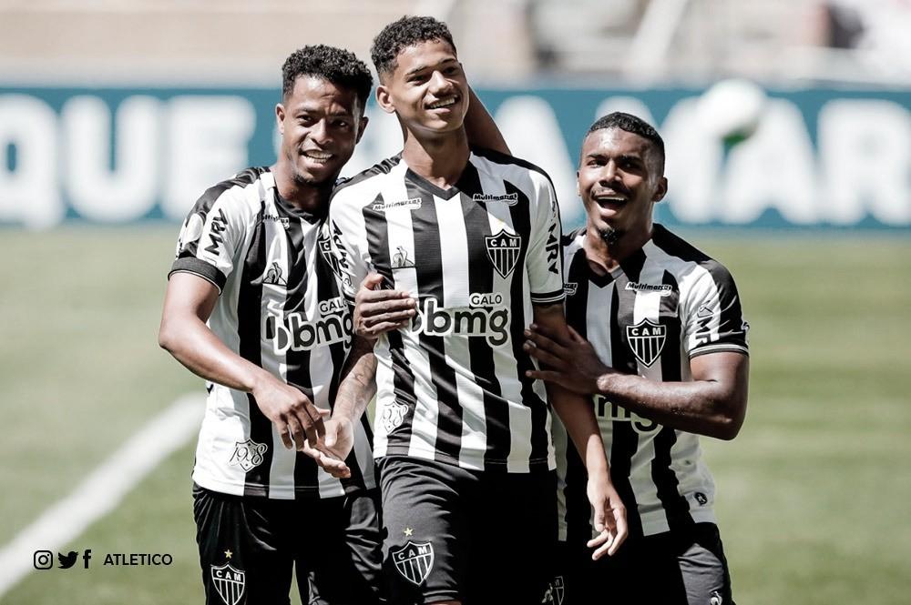 Com dois gols de Marrony, Atlético-MG fura boa marcação do Ceará e segue invicto no Brasileirão