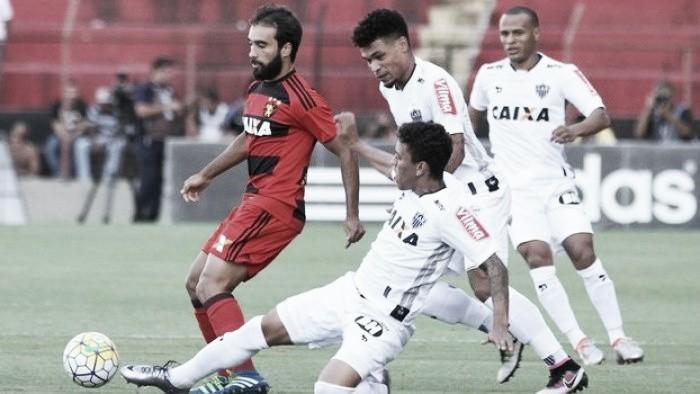 Jogadores do Atlético-MG afirmam que empate com Sport em Recife tem sabor de derrota