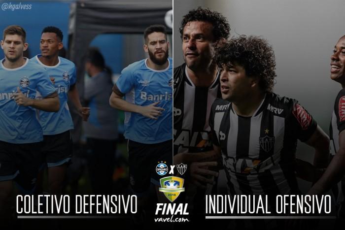 Atlético-MG x Grêmio: decisão traz força coletiva contra desequilíbrios individuais
