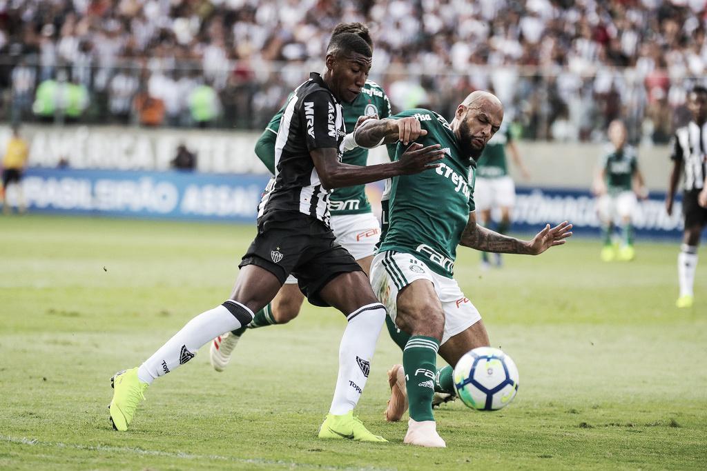 Palmeiras apenas empata com Atlético-MG, mas mantém vantagem na liderança