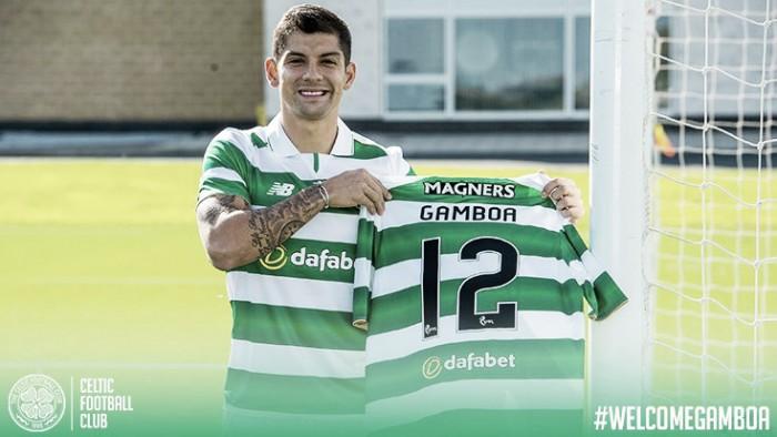 Ex-West Brom, lateral Cristian Gamboa assina com Celtic e torna-se quinto reforço da era Rodgers