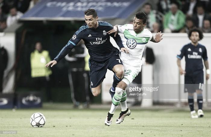 Wolfsburgo com vantagem no Santiago Bernabéu