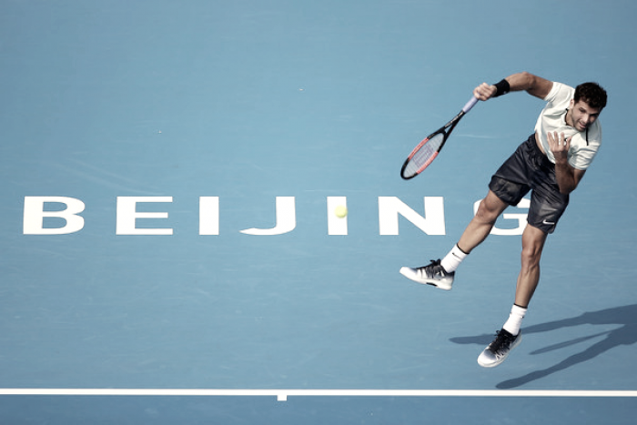 Grigor Dimitrov vuelve a las semifinales en Pekín