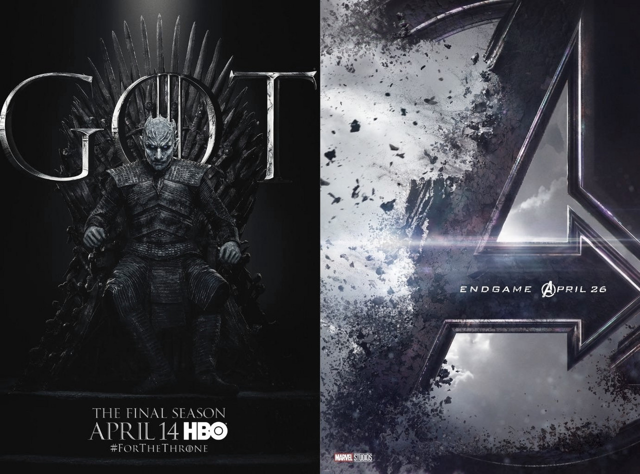 Game of Thrones y Endgame ¿Se justifica tanto revuelo?