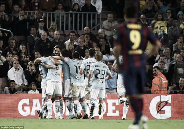 Barcelona surpreendido em casa pelo Celta