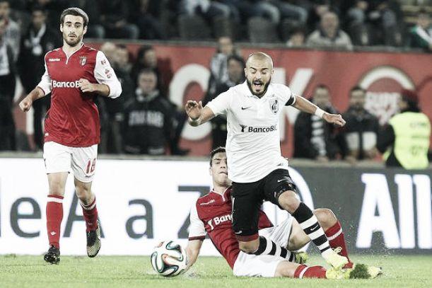 Braga vence em Guimarães e segue em frente na Taça