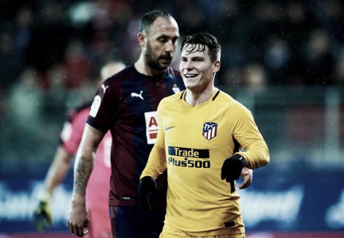 Atlético de Madrid bate Eibar com gol solitário de Gameiro e mantém boa fase