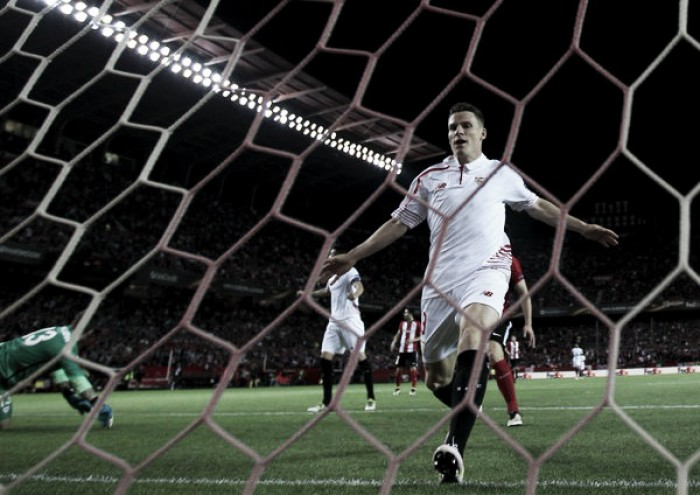 Sevilla (5)1-2(4) Athletic Club: Hosts through on stunning penalties