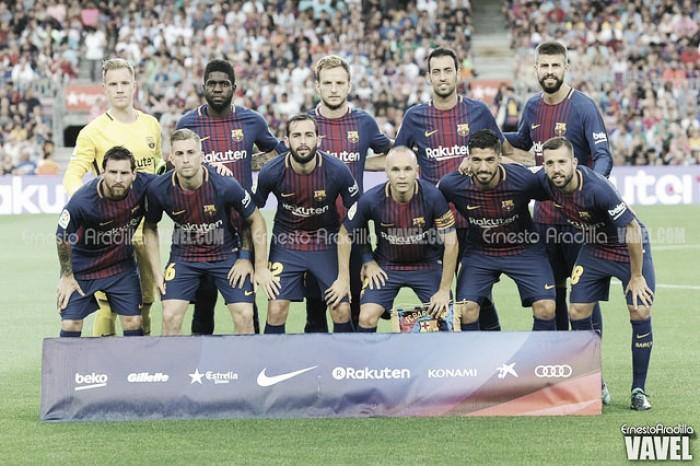 Puntuaciones Barcelona - Chapecoense, Trofeo Joan Gamper