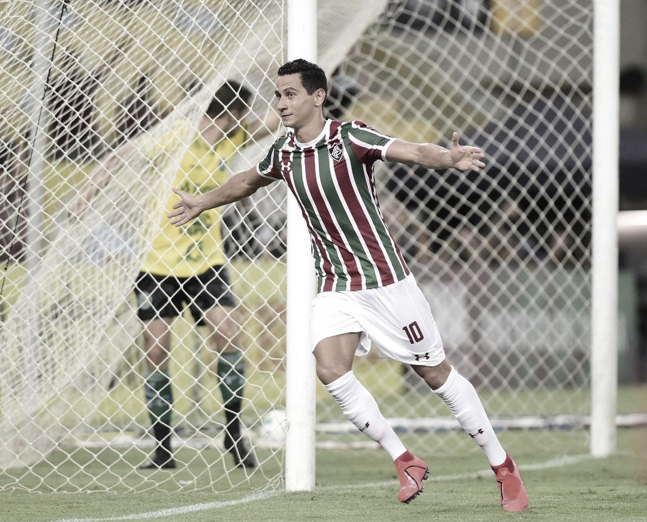 """Ganso desencanta com gol de barriga e avisa: """"Fizemos nossa obrigação"""""""