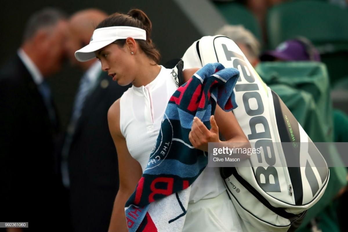 Garbiñe Muguruza, campeã de Wimbledon, perde na segunda ronda