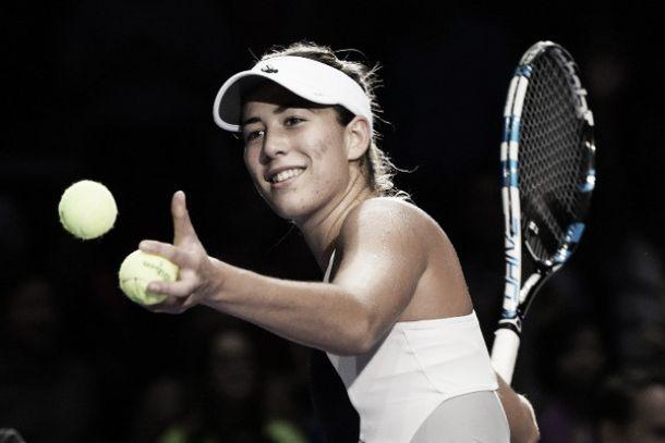 WTA Finals, gruppo bianco: Muguruza vola a punteggio pieno