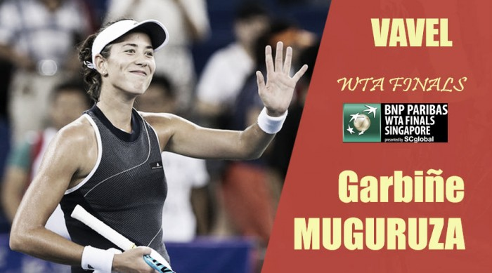 WTA Finals 2017. Garbiñe Muguruza: cuando la fuerza viene del corazón