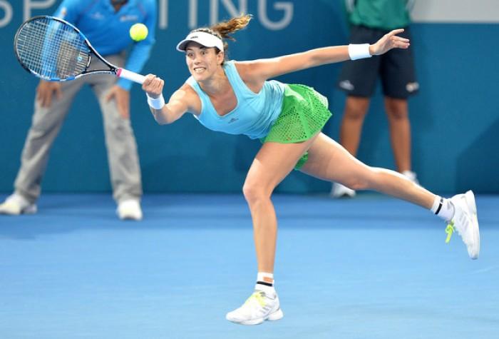 Vinci sconfitta a Brisbane