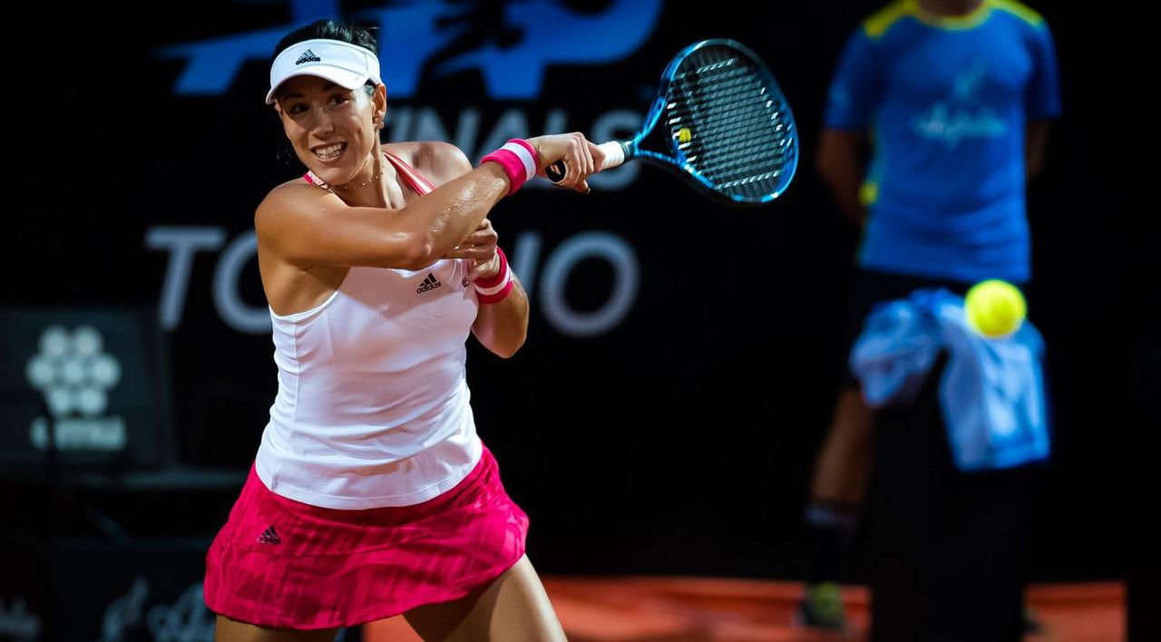 WTA Rome: Garbine Muguruza cruises past Sloane Stephens