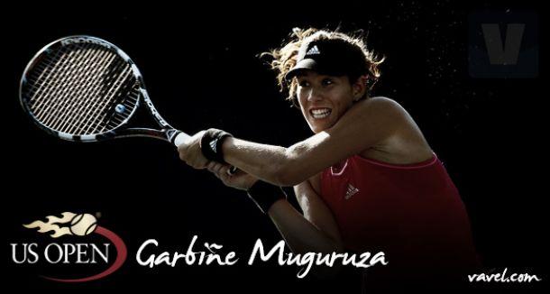 US Open 2015. Garbiñe Muguruza: el colofón de un año inolvidable