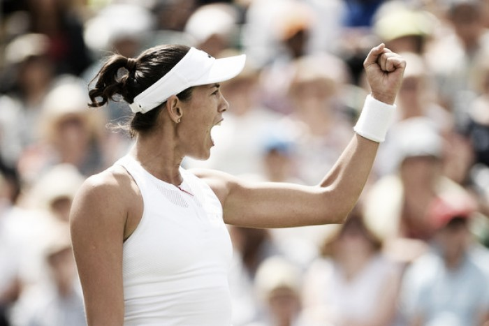 Top 10 Grand Slam Matches of 2017: #1 - Garbiñe Muguruza ousts world number one Angelique Kerber in Wimbledon classic