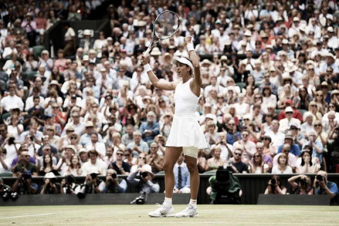 Wimbledon: Garbiñe Muguruza strolls past Magdalena Rybarikova to reach the final