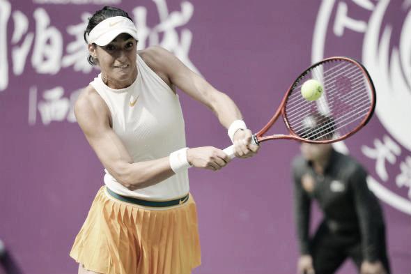 Garcia supera Hsieh em Tianjin e avança à sua primeira final no ano