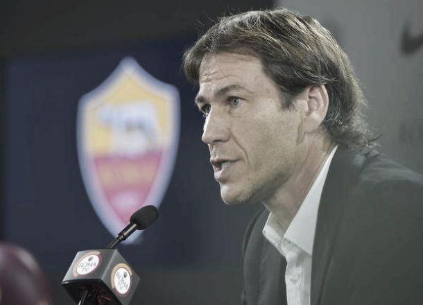 """Roma, Garcia: """"Non me ne frega niente di Nedved ed Allegri"""""""