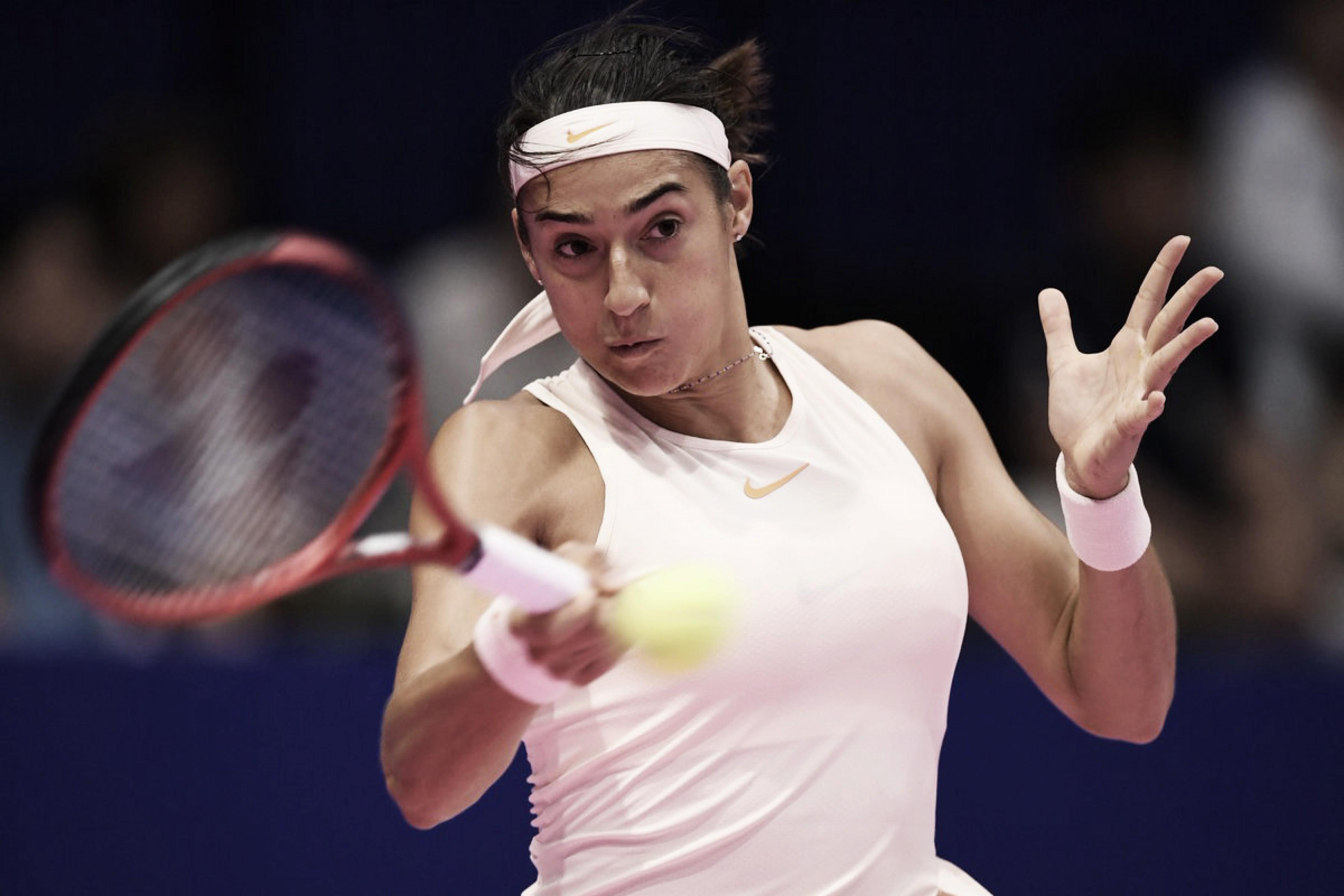 Garcia salva match points e elimina Pavlyuchenkova em Tóquio