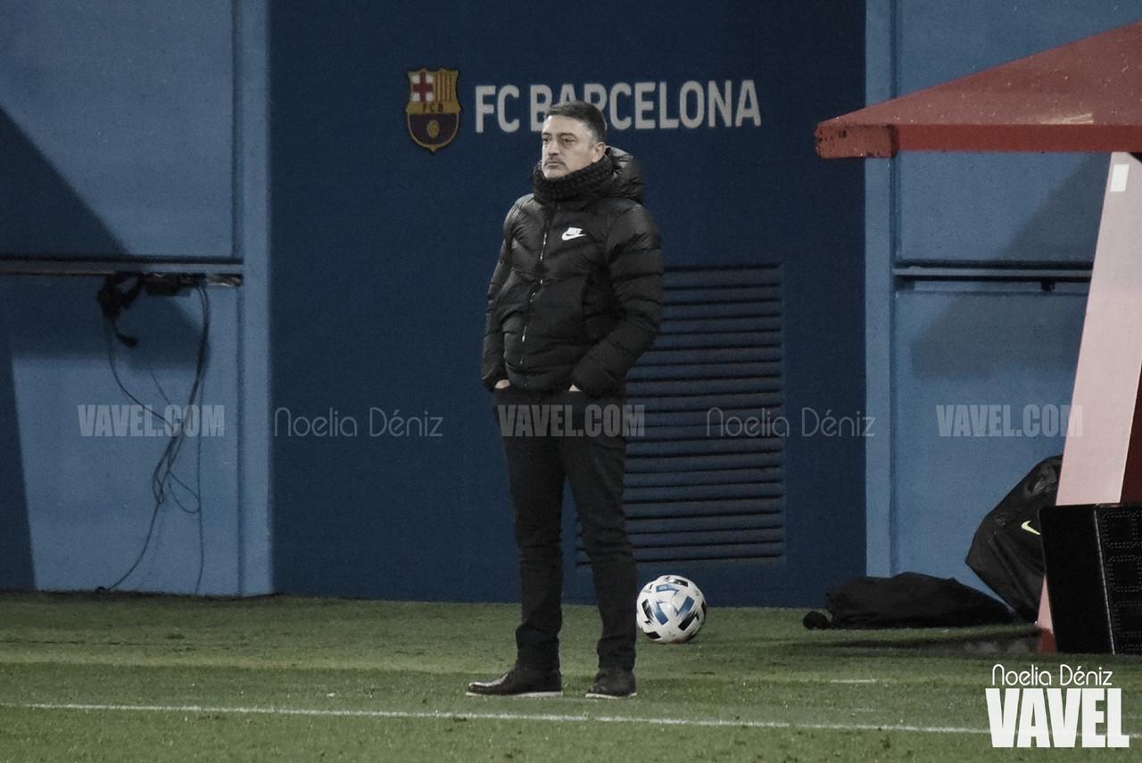 """García Pimienta: """"Si tenemos que perder, que sea así"""""""