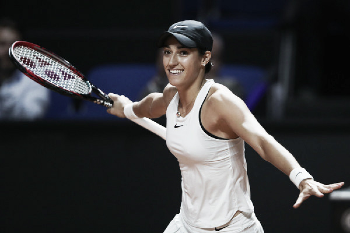 WTA Stuttgart: Caroline Garcia returns from the brink, stuns Maria Sharapova in three marathon sets