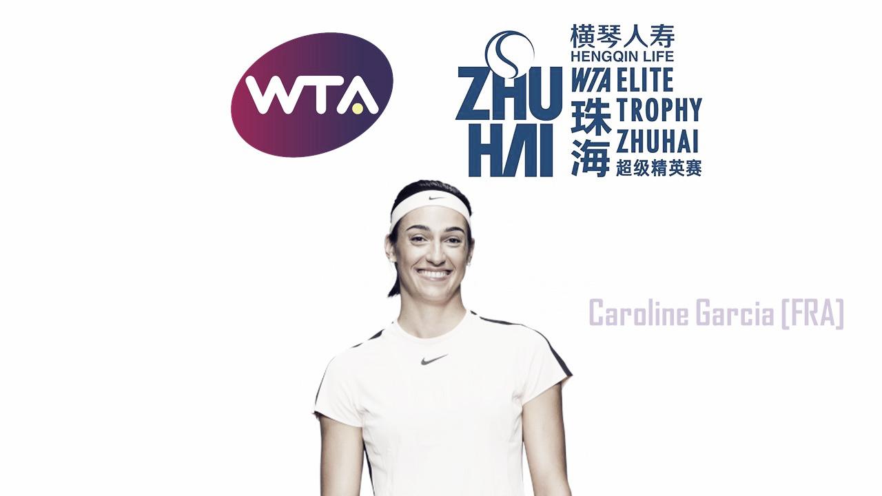 Caroline Garcia qualifies for WTA Elite Trophy