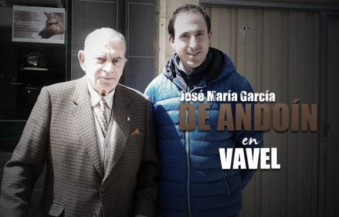 El 'míster', José María García de Andoín: historia y aroma de fútbol