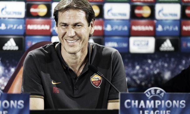 """Garcia: """"Mi aspetto una gara difficile contro il Sassuolo. Massimo rispetto per loro"""""""