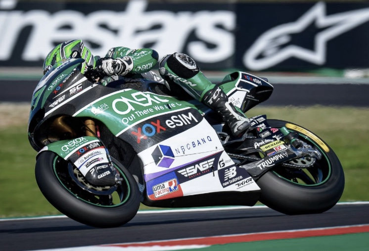 Gardner en el GP de Portugal / foto: motogp.com