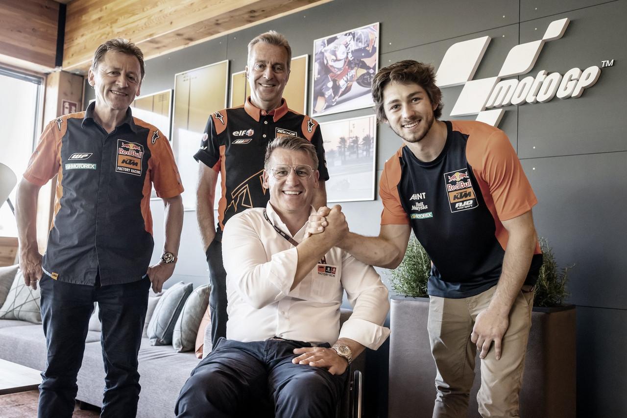 Remy Gardner debutará en MotoGP en 2022 con el KTM