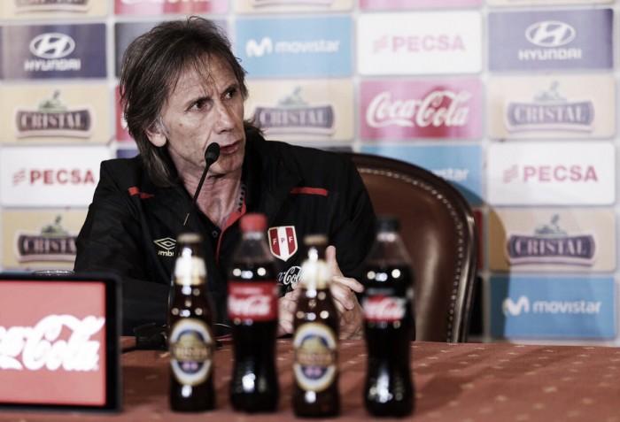 """Ricardo Gareca: """"El TAS no cambia el enfoque que tenemos para el duelo ante Bolivia"""""""