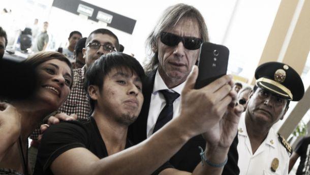 Ricardo Gareca regresó a Lima tras tomarse vacaciones