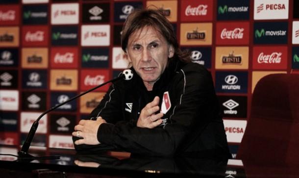 """Ricardo Gareca: """"Agradezco al pueblo peruano por el apoyo masivo"""""""
