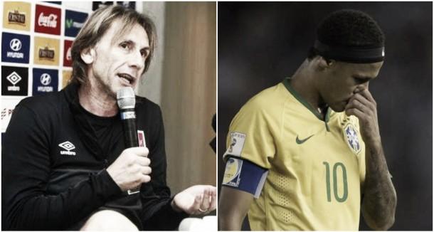 """Ricardo Gareca: """"No queremos concentrar la atención en Neymar"""""""