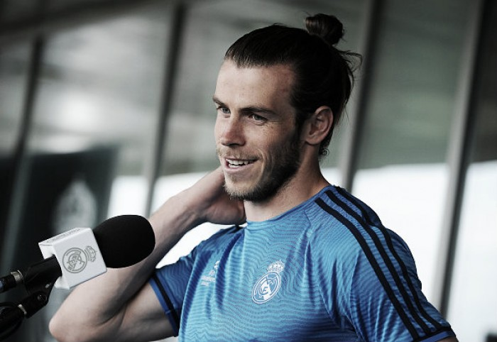 Gareth Bale claims that he is happy at Real Madrid