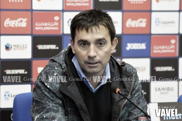 """Asier Garitano: """"Es un punto que nos refuerza para el inicio de la segunda vuelta"""""""