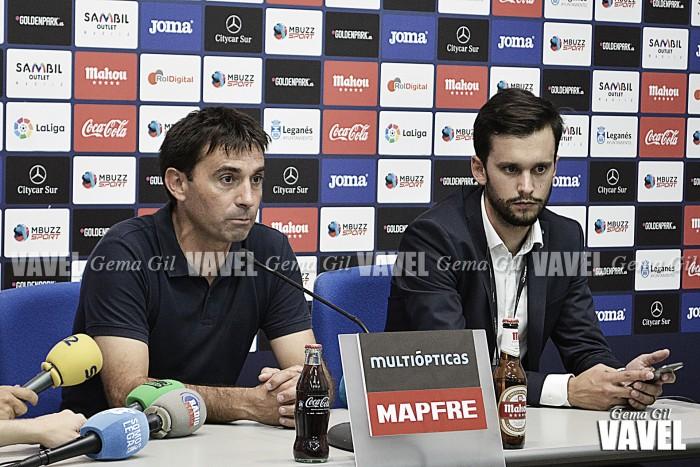 """Garitano: """" Espero que la gente lo dé todo apoyando al equipo"""""""