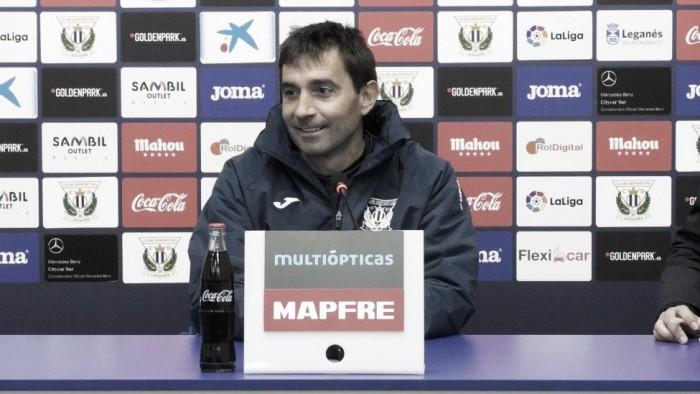 """Asier Garitano: """"Tenemos que creer e ir allí a jugar un gran partido porque la recompensa va a ser muy grande"""""""