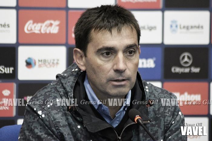 """Asier Garitano: """"No estamos teniendo suerte en la faceta de lesiones"""""""