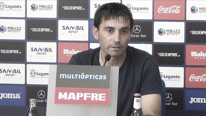 """Asier Garitano: """"Iremos a competir"""""""