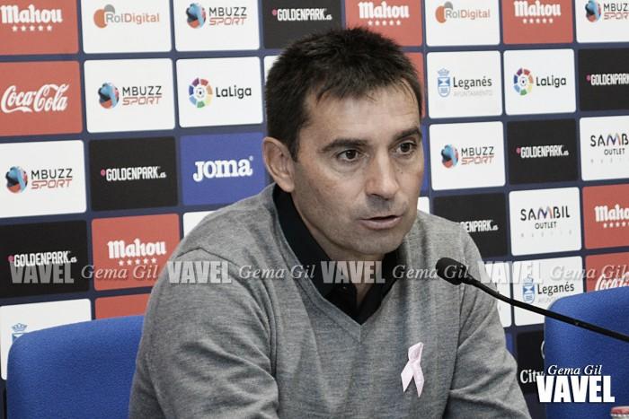 """Asier Garitano: """"No estoy preocupado por los resultados en casa"""""""