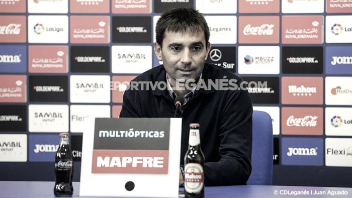 """Asier Garitano: """" Trataremos de competir como en un partido más de Liga"""""""