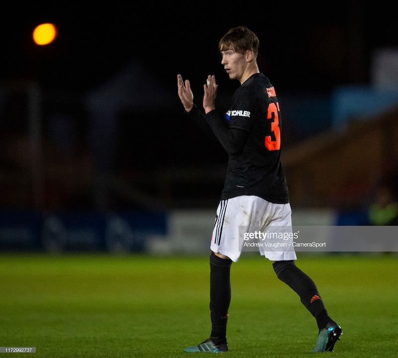 Solskjaer praises Manchester United youngster James Garner