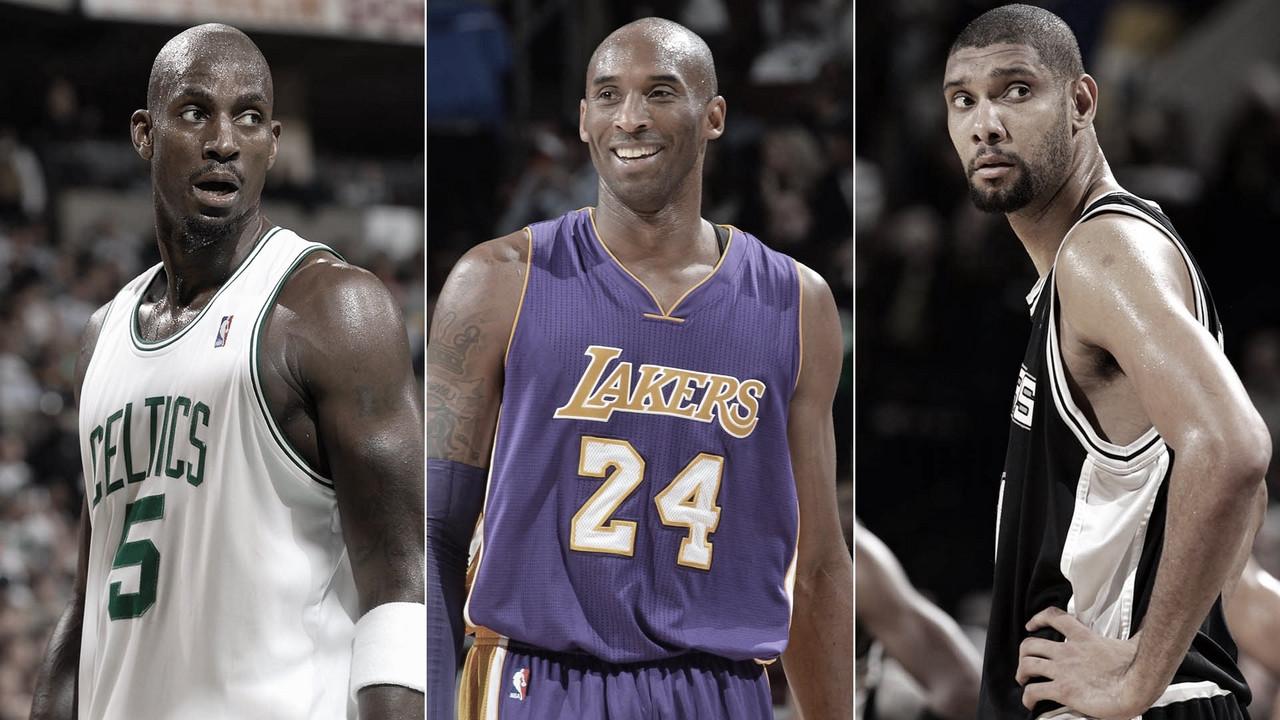 Garnett, Kobe e Duncan: ex-atletas são principais nomes no Hall da Fama da NBA em 2020